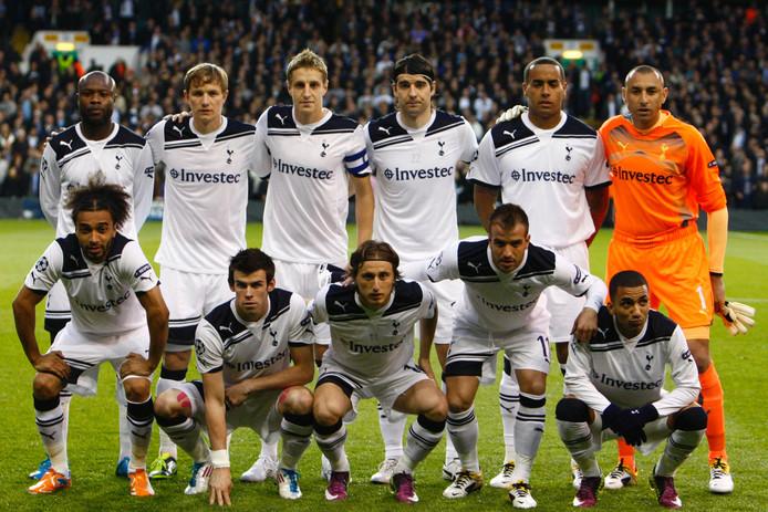 Het team van Tottenham Hotspur voor de kwartfinale tegen Real Madrid.