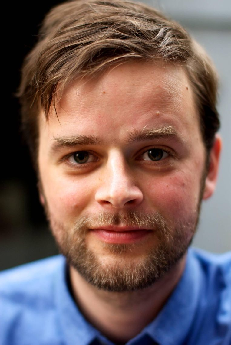 Martijn Stronks, jurist en filosoof. Beeld RV