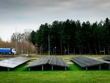 Stop op aanvragen voor zonneparken