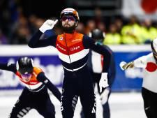 Knegt pakt bij rentree zege in B-finale 1500 meter, De Laat pakt brons op 1000 meter