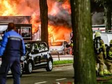 Enorme brand bij garagebedrijf in Doetinchem: 'Alles wat ik heb opgebouwd, is weg'
