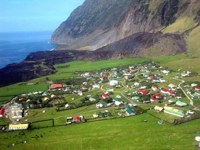 Tristan da Cunha. Beeld -