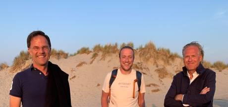 Rutte en Kelder op doodnormale vakantiefoto: Tweetje van Bert-Jan vanaf Terschelling maakt veel los
