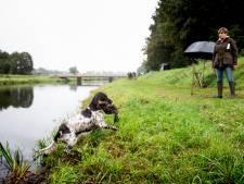 Jachthonden op examen in Zwiep