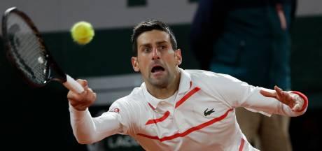 Djokovic staat wéér maar vijf games af, nu wacht eerste test