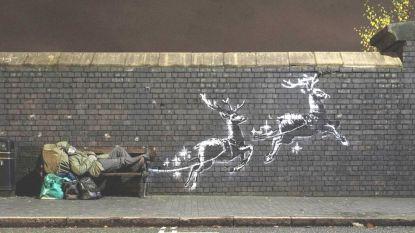 Al miljoenen mensen bekeken dit nieuwe kunstwerk van Banksy