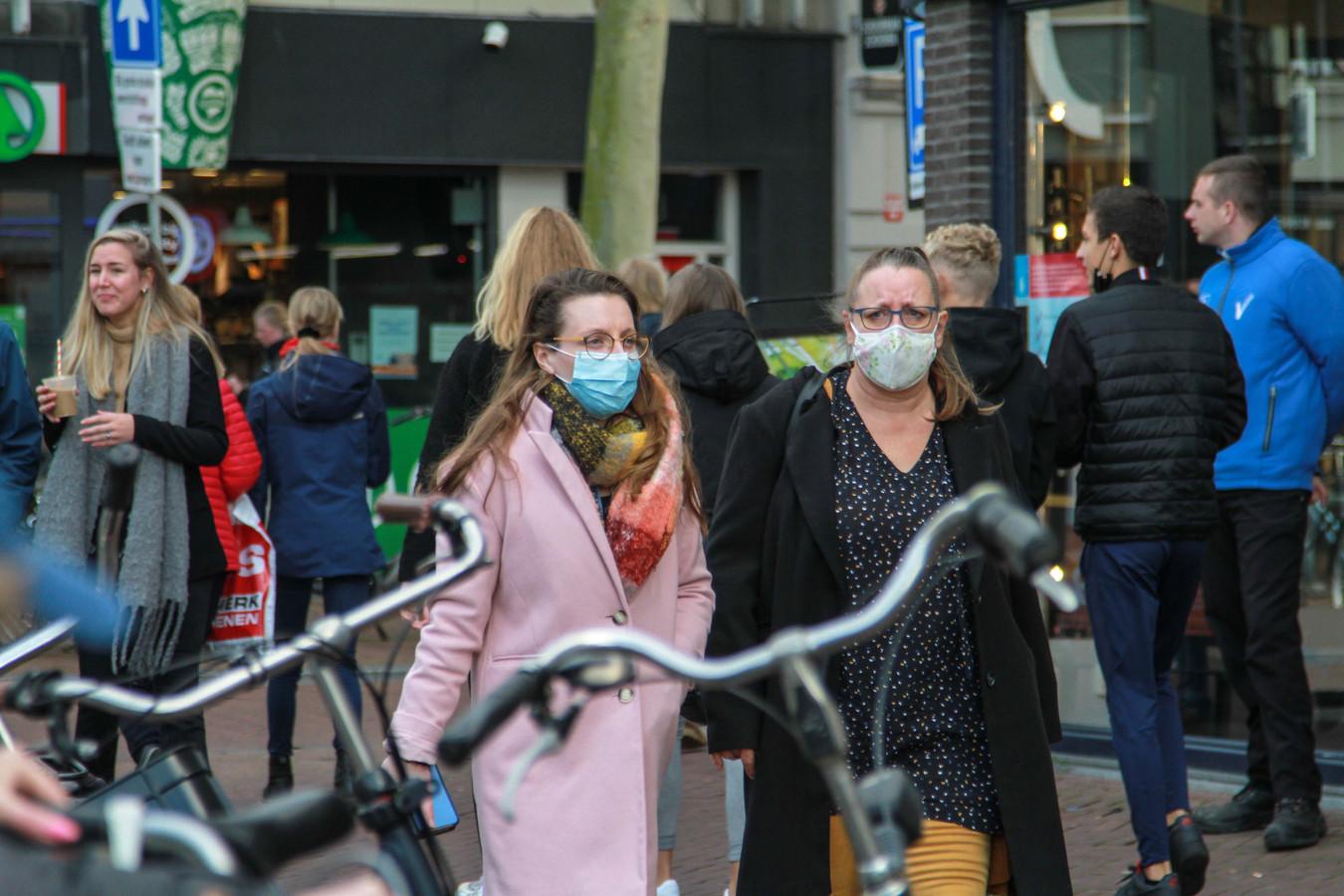 Alle inwoners van Oude IJsselstreek boven de 12 jaar krijgen een gratis mondkapje.