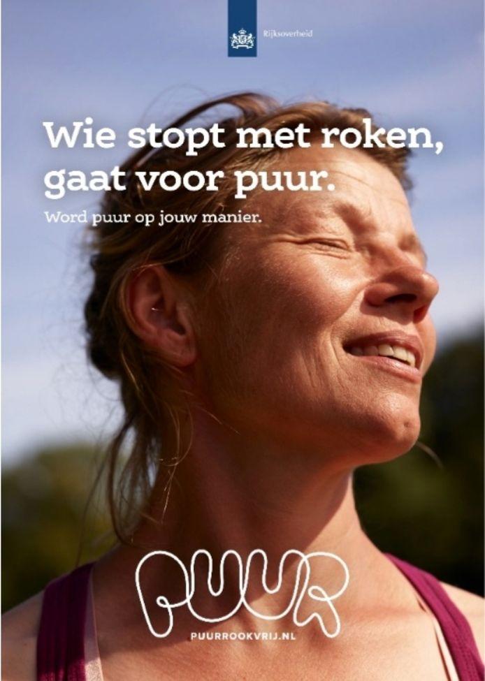 De nieuwe overheidscampagne voor stoppen met roken.