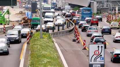 Let op: linkerrijstrook voor meeste auto's verboden terrein bij wegenwerken Duitsland