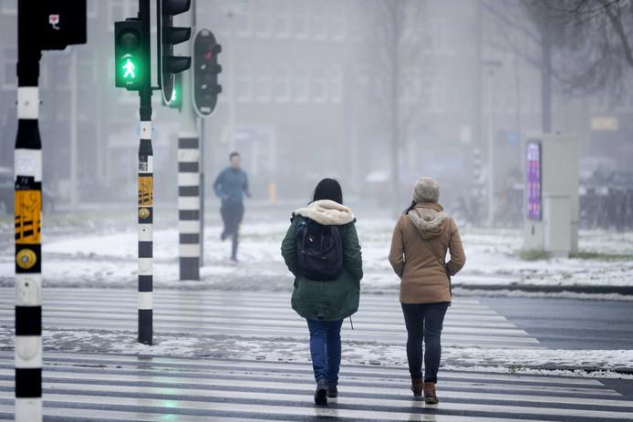 De kans op sneeuw neemt zienderogen toe.