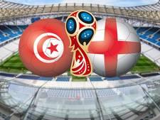LIVE: Kan Tunesië stunten tegen outsider Engeland?