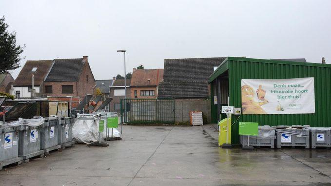 Containerpark verhuist buiten dorpskern