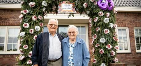 De band tussen Jan en Jenny Wevers uit Zuna is in 60 jaar alleen maar sterker geworden