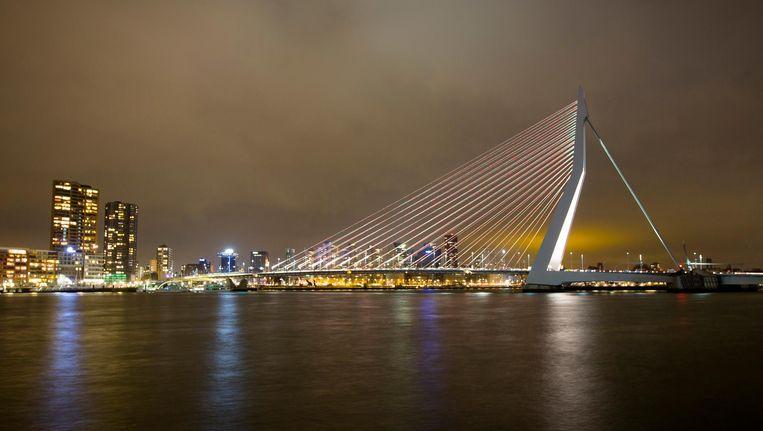 Erasmusbrug, Rotterdam Beeld anp