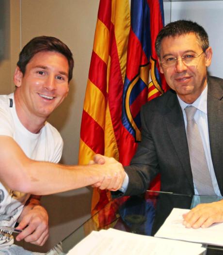 Zit Barça-voorzitter Bartomeu achter online kritiek op Messi, Piqué en Xavi?