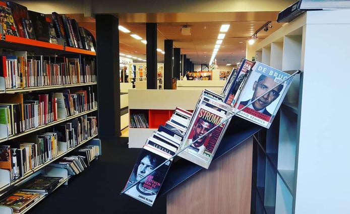 De bibliotheek in de Nieuwe Nobelaer sluit voorlopig ook de deuren vanwege de RIVM-maatregelen om Covid-19 te beteugelen.