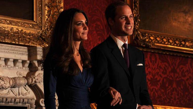 Prins William en Kate Middleton Beeld afp