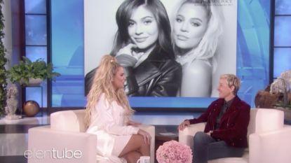 """Ellen Degeneres voelt Khloé Kardashian aan de tand: """"Kylie is zwanger, ik zie het aan haar ogen!"""""""