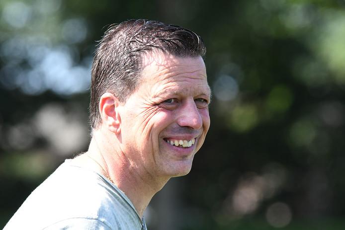 John Janssen, trainer van Excellent.