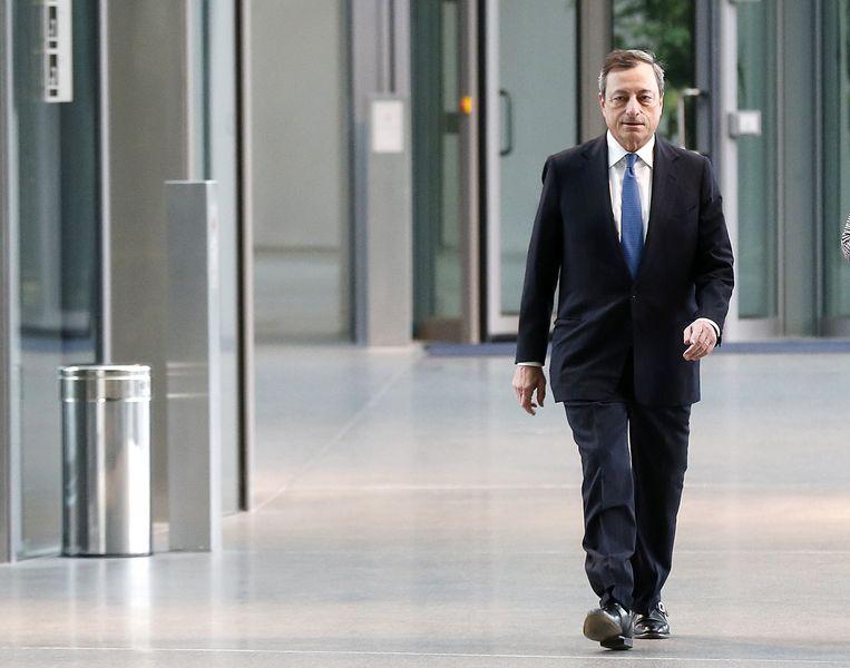 ECB-president Mario Draghi. Beeld ap