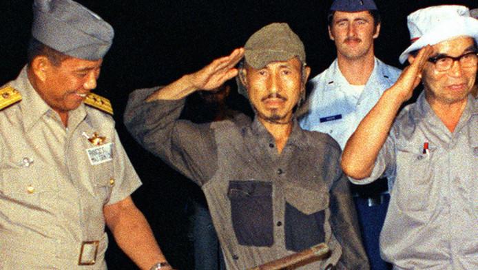 Hiroo Onoda in 1974.