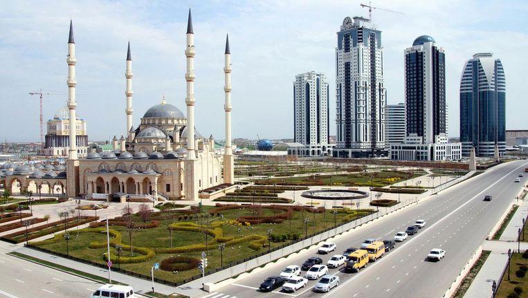 De Tsjetsjeense hoofdstad Grozny. Beeld Getty