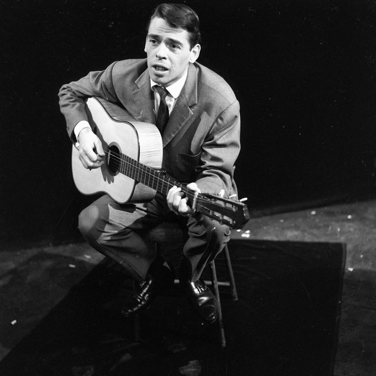 Jacques Brel. Beeld Getty Images