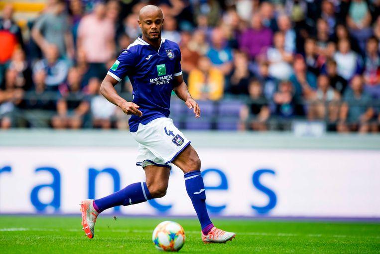 Kompany terug in het shirt van Anderlecht. Beeld AFP