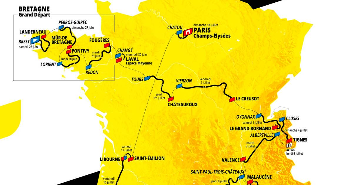 Tour De France 2021 App