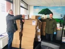 5000 kilo aardappelen naar gezinnen in nood