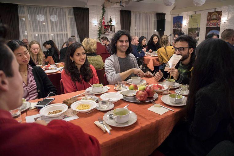 Yalda, Iraans lichtfeest in Leiden Beeld Werry Crone