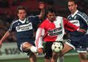 Pablo Sanchez op weg naar een goal tegen Fortuna Sittard in 1998.