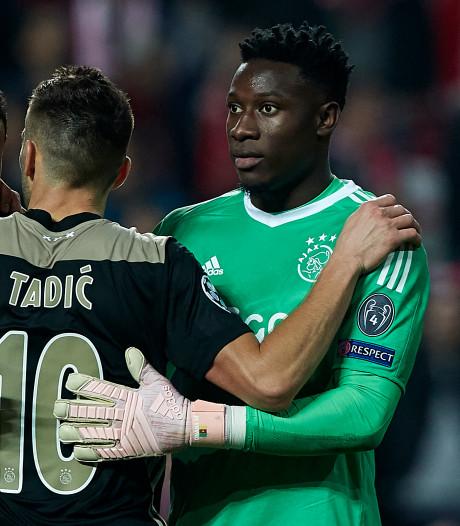 Bekijk hier hoe Ajax zich naar gelijkspel bij Benfica vecht