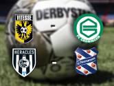 Vitesse en Groningen al drie wedstrijden ongeslagen