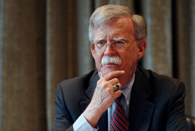 John Bolton, de nationale veiligheidsadviseur van de Amerikaanse president Donald Trump.