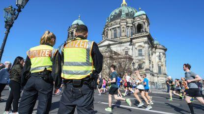 Arrestaties bij halve marathon Berlijn voorlopig niet gelinkt aan terreur