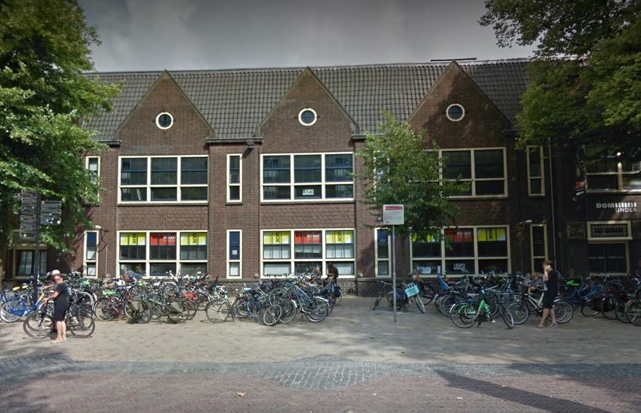 Het Utrechtse Centrum voor de Kunsten aan het Domplein.