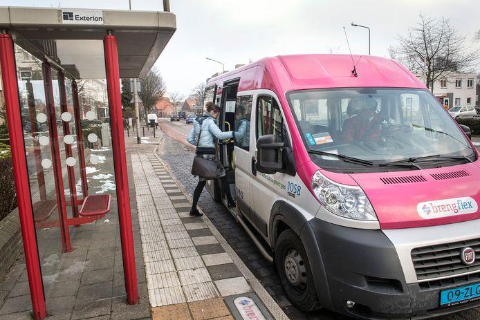 Vervoerder Breng ziet de Flexbusjes als een alternatief voor de avondlijnen na 21.00 uur.