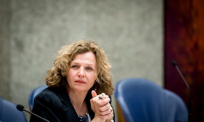 Edith Schippers (VVD) tijdens het Tweede Kamerdebat over de verkiezingsuitslag