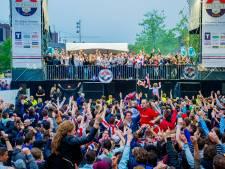 Bekerfinale Willem II 5 mei te zien op groot scherm op de Heuvel in Tilburg
