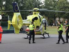 Traumahelikopter voor gewonde in gymzaal Apeldoorn