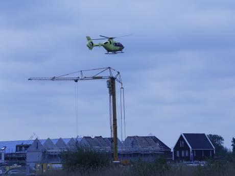Gewonde bij incident op bouwplaats in Veenendaal