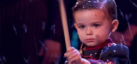 """Âgé de 3 ans, Hugo est le grand vainqueur d'""""Incroyable talent"""" en Espagne"""