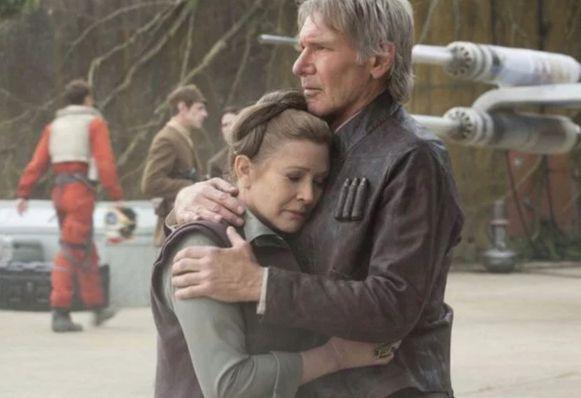 Carrie Fisher keert opnieuw terug naar 'Star Wars'.