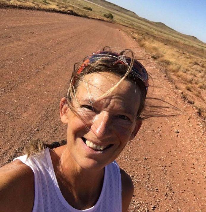 Ingrid IJsebaert onderweg in Australië.