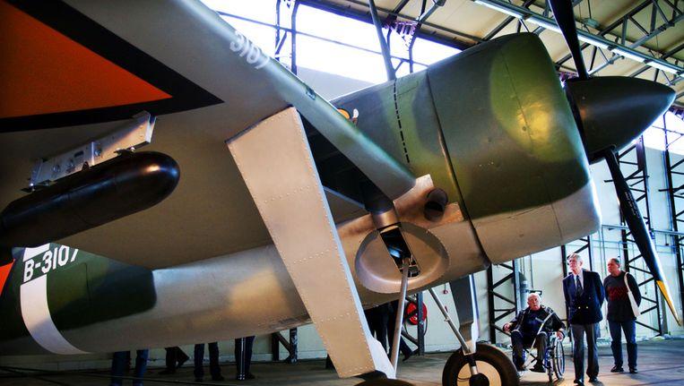 Het Militaire Luchtvaart Museum op de voormalige vliegbasis Soesterberg Beeld null