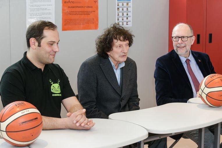 Dennis Yoroz , Willy Steveniers, Luk Lemmens