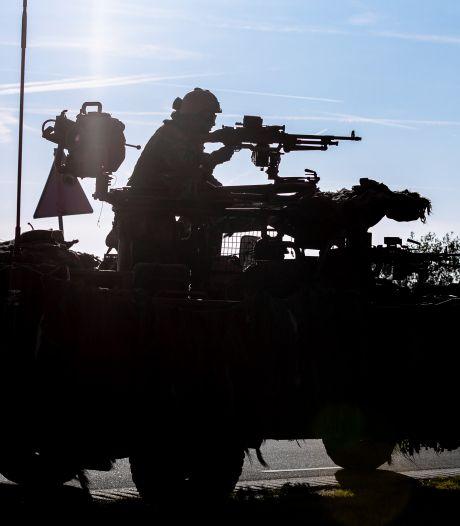 Hedel schrikt van schoten in de nacht; gelukkig zijn het dit keer losse flodders van het leger