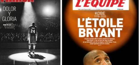 Ook wereldpers neemt afscheid van Kobe Bryant
