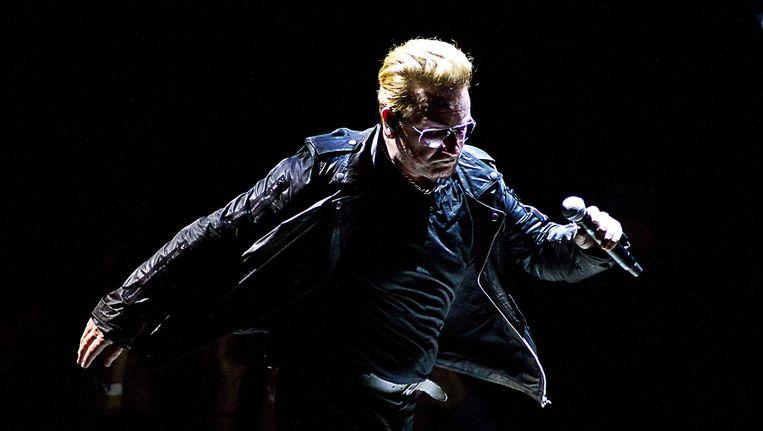 Bono in Ziggo Dome. Beeld epa